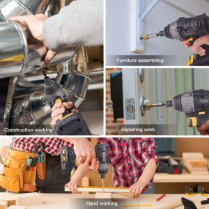 Different Applications from a Cordless drill comparison review