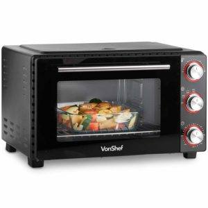 Filament and or heated plates Toaster oven in review and comparison