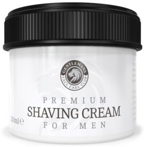 The handling of the Shaving Cream in review and in comparison