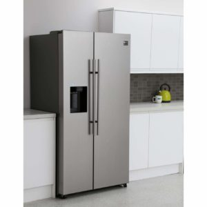 Space Use from a Side By Side Refrigerator review and comparison