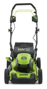 What types of Riding lawn mower are there in a comparison review?