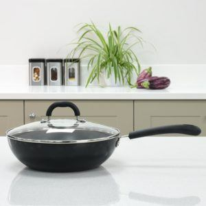 What types of Wok are there in a comparison review?