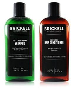 What types of shampoo for men are there in a comparison review?
