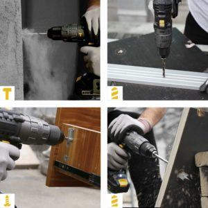 Uses of a Cordless drill in a review and comparison