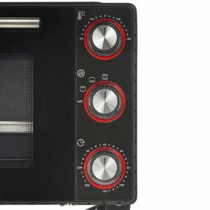 Which Toaster oven properties differ in review and comparison
