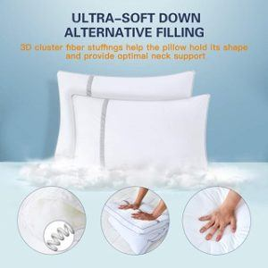 anti allergy pillows from The Big Bed