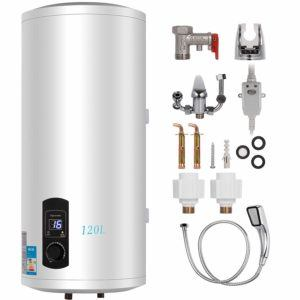 The handling of the water heater in review and in comparison