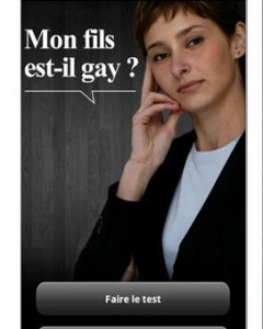 French smartphone app 'tells mothers if their son is gay'