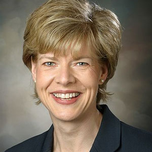 Tammy Baldwin was sworn into office today