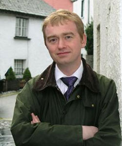 """Tim Farron called the rumours """"wicked"""""""