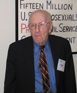Frank Kameny has been honoured with a fitting tribute (Photo: DC Virago)