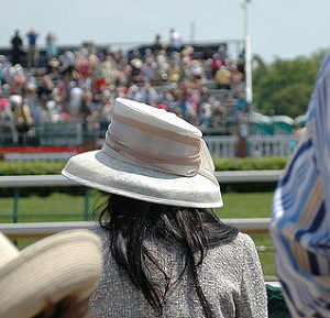 Paddy Power's advert encourages viewers to 'spot' trans women at the Cheltenham Festival (Photo: Flickr user boboroshi)