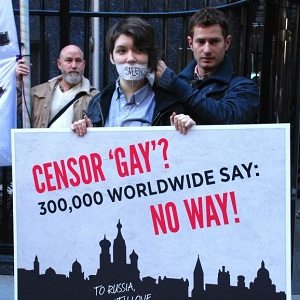 St Petersburg was accused of trying to censor gay rights (Image: Allout)