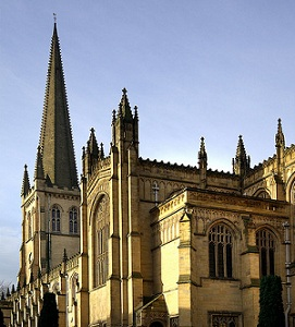 The incident took place at Wakefield Cathedral (Photo: Flickr user SFB569)