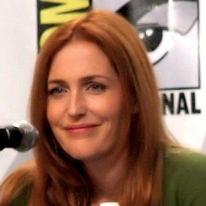Gillian Anderson spoke of a gay relationship at high school (Photo: Ido ...