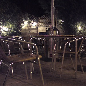 The men were injured in a pub garden late at night (Photo: Otama)