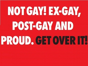 Exgay poster - harmful and misleading advert