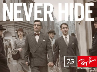 The ad was shot as part of the 75th anniversary campaign (Photo: Ray-Ban)