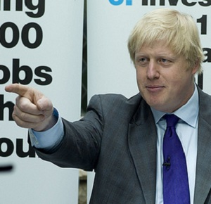 Mr Johnson advised that the manifesto be 'devoured' (Photo: BackBoris2012)