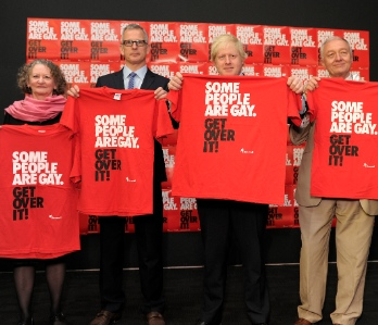 Jenny Jones, Brian Paddick, Boris Johnson and Ken Livingstone spoke at Stonewall's hustings today
