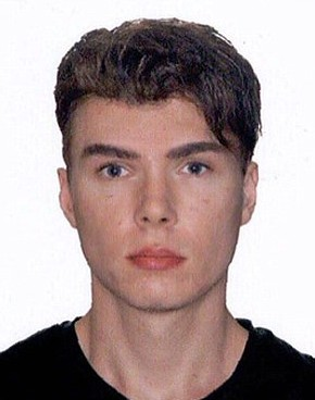 Luka Rocco Magnotta collapsed in court (Photo: Interpol)