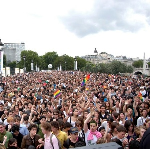 Organisers say around 700,000 people attended the march