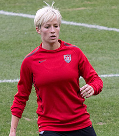 Megan Rapinoe's key pass secured gold for the Women's US soccer team