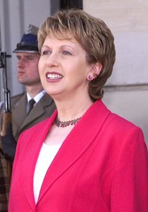 Mary McAleese has weighed in on equal marriage