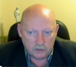 Philip Pocock pictured in a previous You Tube video