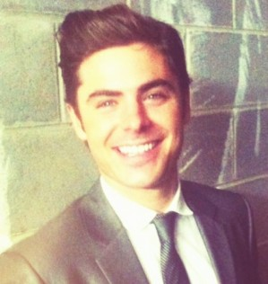 Mr Efron is currently promoting his new film, The Paperboy, which is released in October (Credit: Twitter)