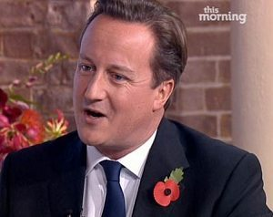 """David Cameron: """"I've heard all sorts of names being banded around"""" (Photo: ITV This Morning)"""