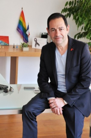 Jean-Luc Romero was the first French politician to reveal his HIV-positive status, in 2002 (Images: Franck Laguilliez)
