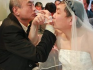 The broadcast showed the couple drinking traditional bajiu shots together in celebration. (Image: 6Rooms)