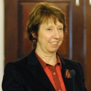 Catherine Ashton condemned the Russian anti-gay law, which passed its first reading last week (Image: Wikipedia)