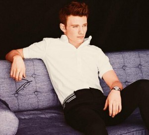 Chris Colfer said he felt people tried to 'pigeonhole' and 'typecast' him for being gay (Image: Twitter)