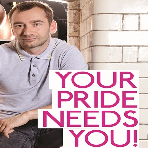 Coronation Street actor Charlie Condou is supporting London LGBT+ Community Pride