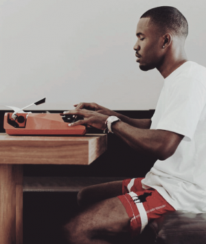 Frank Ocean wrote an open letter saying that his first love was a man (Image:Tumblr)