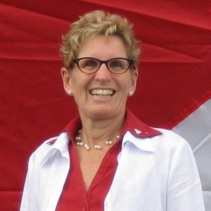 Kathleen Wynne was appointed as the Premier of Ontario in January (Image: Twitter)