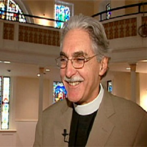 Reverend Luis Leon said that all people, including gay people, were created in God's image (Image: PBS)