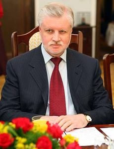 Sergey Mironov announced the delay and blamed obstructive politicians (Image: Polish Senate)