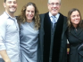 Massimo Gerina, Maria Italiano, Judge Antonio Marin and Cher Filippazzo (Image: Facebook)
