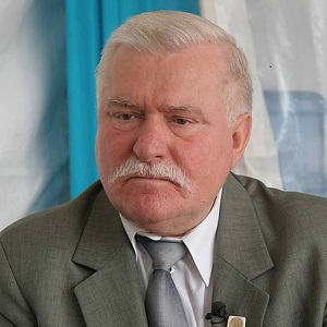 Lech Walesa is a Nobel Peace Prize winner and human rights campaigner