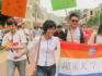 Changsha's IDAHOT parade. The organiser remains in detention (Image: Weibo)