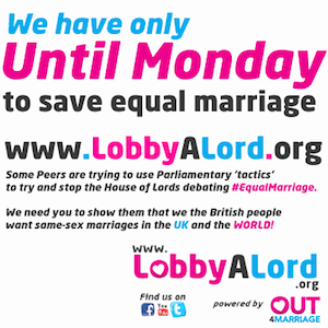 The LobbyALord site launched on Friday to make it easier to encourage peers to show support for the bill