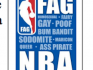 The flier for Westboro announced its intention to picket two NBA games in response to Jason Collins coming out as gay