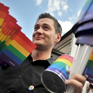 Robert Biedron has taken office as Poland' first openly gay mayor