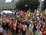 Baltic Pride took place in Lithuania's capital today (Cred: Sophieintveld Twitter)