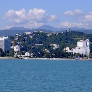 Sochi is set to host the Winter Olympics in early 2014