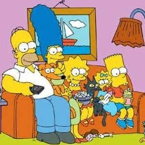 The study looked at almost 500 scenes from The Simpsons