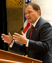 Utah governor Gary Herbert will follow the Supreme Court's ruling when it comes to extending state benefits to married same-sex couples
